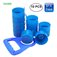 10 Pieces/lot Non Spill Water Bottle Caps Reusable Anti Splash Caps fo