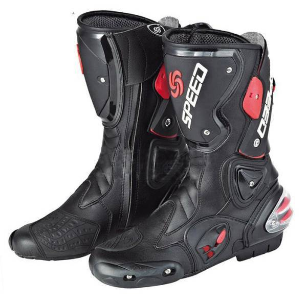 Free shipping motorcycle boots SPEED B1001 BIKERS Racing Boots Motocross Boots Motorbike boots SIZE 40 41