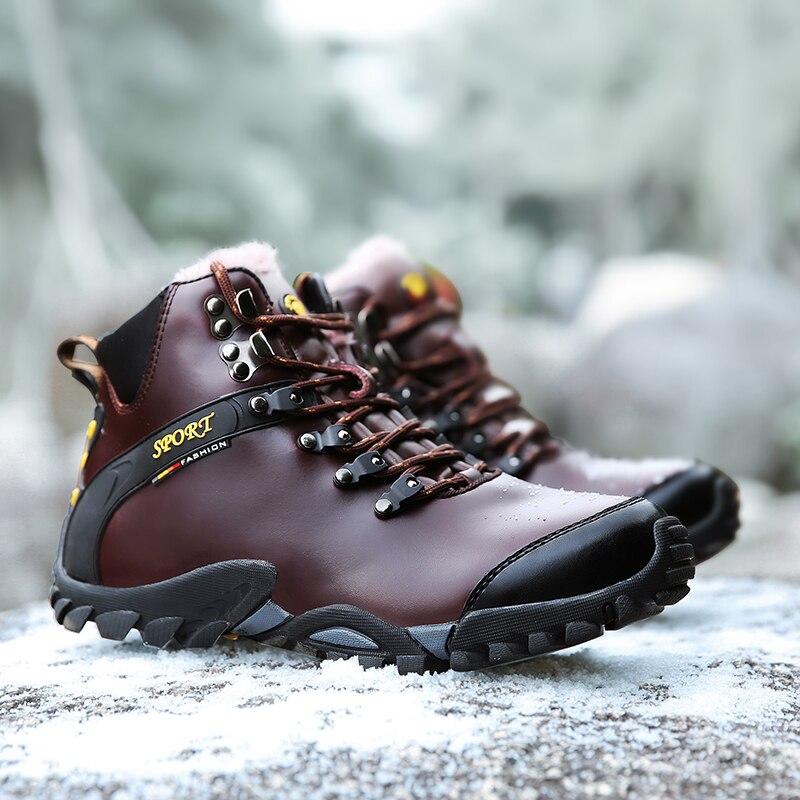 BEITA Winter Men Women Boots Warm Plush Sneakers Brand Outdoor Unisex Sport Shoes Comfortable Running Shoes big size EUR 38-44 цена