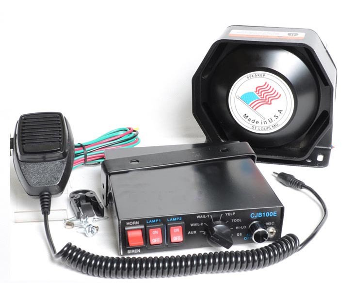 ФОТО 7 Tone 200W Car Alarm Siren Horn Security Systems Car Electronic Siren HD Propaganda Horn Police Megaphone Loudspeaker