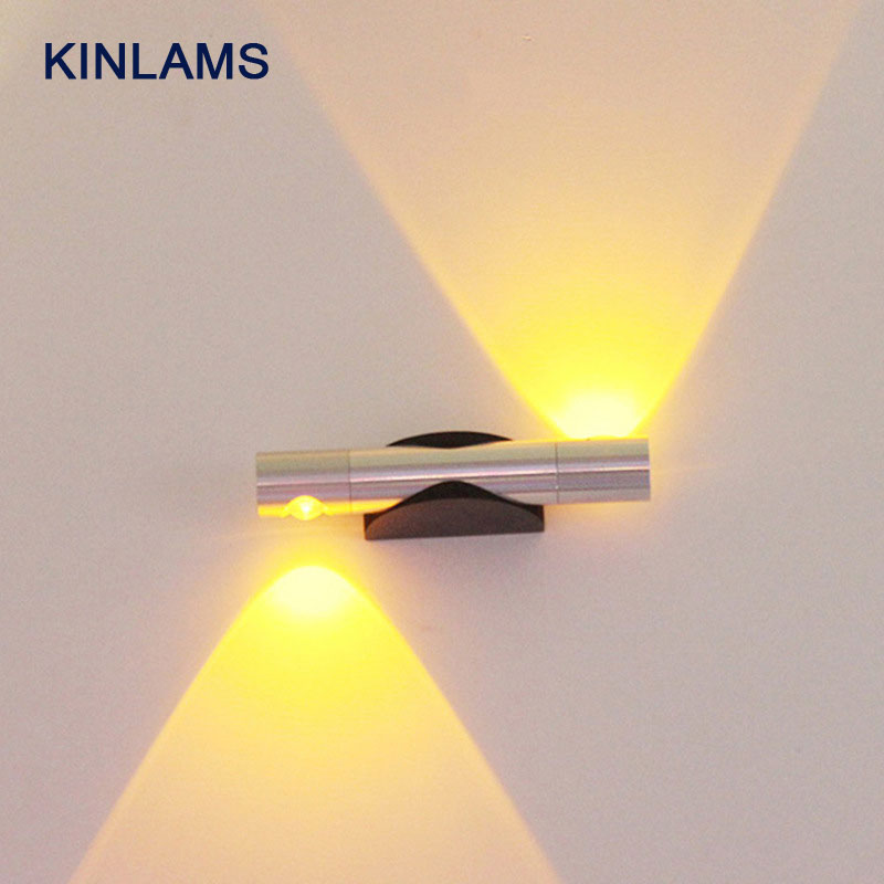 LED Wall Lamps 360 Degree Rotation Wall Lighting Living Background Bedroom Bedside Lights, Aisle Stairs 85-265V