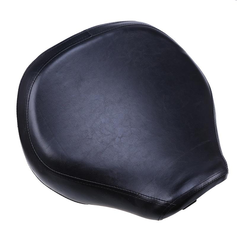 Здесь продается  Black Leather PU Motorcycle Front Seat Saddle Scooter selle Cafe Racer Seat Covers For SUZUKI VL400/800 01-12 Motocross almofada  Автомобили и Мотоциклы