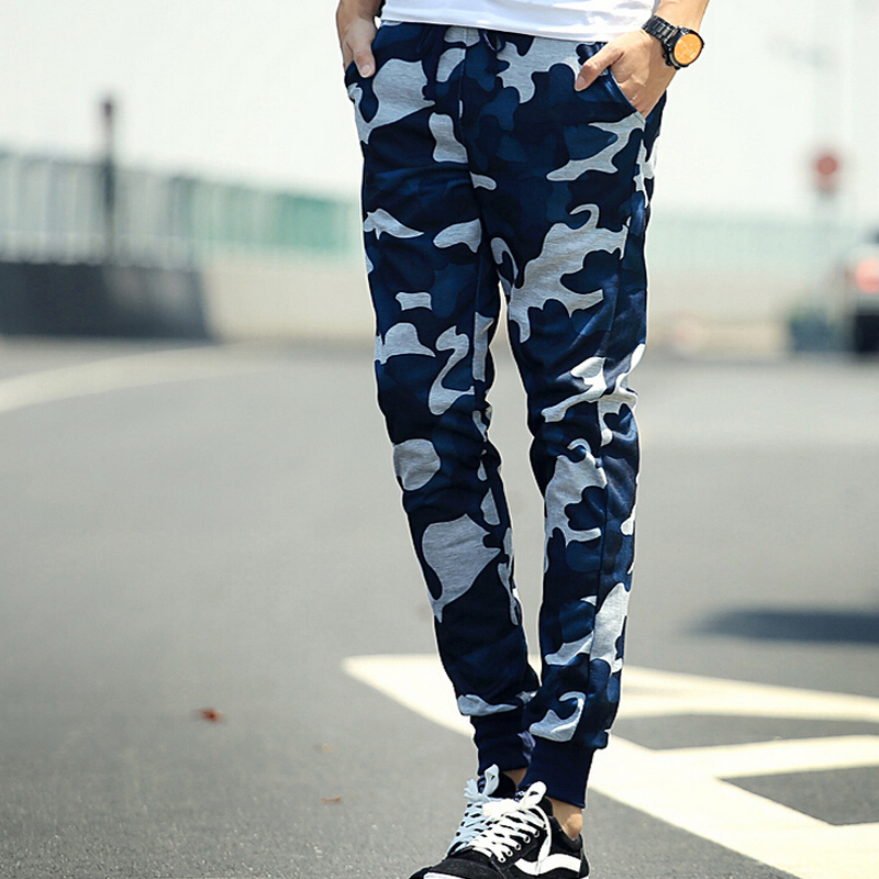 Clothing, Shoes & Accessories Men's Clothing Obedient New Mens Camo Skinny Camouflage Joggers Camo Jogging Pants Fleece Army Bottoms