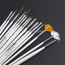 Hot Selling 2set/30Pcs Design Painting Pen professinal Nail Art Brush Set for natural/false and 3D Beauty