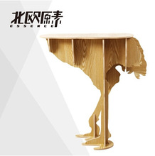 European Strange new creative home creative household goods ostrich tables Nordic style home decoration table desk free shipping