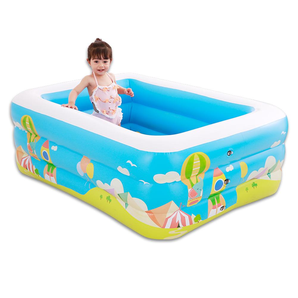 2019 nouveau gonflable bébé Piscine Piscine Zwembad Portable extérieur enfants bassin baignoire enfants Piscine bébé Piscine