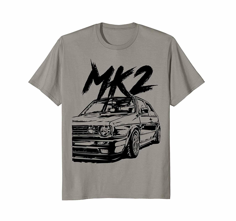 2019 летняя футболка с круглым вырезом, модная повседневная Высококачественная Футболка с принтом «Грязные гольфисты» 2 Mk2 Gti