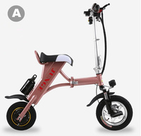 2 Wheel Electric Scooter 17 3kg Foldable 400W Brushless Motor 10inch Wheel For Mothers Or Girls