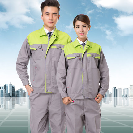 SET OF COAT+PANTS AUTO CAR SERVICE UNIFORM REPAIR UNIFORM WELDING CLOTHES