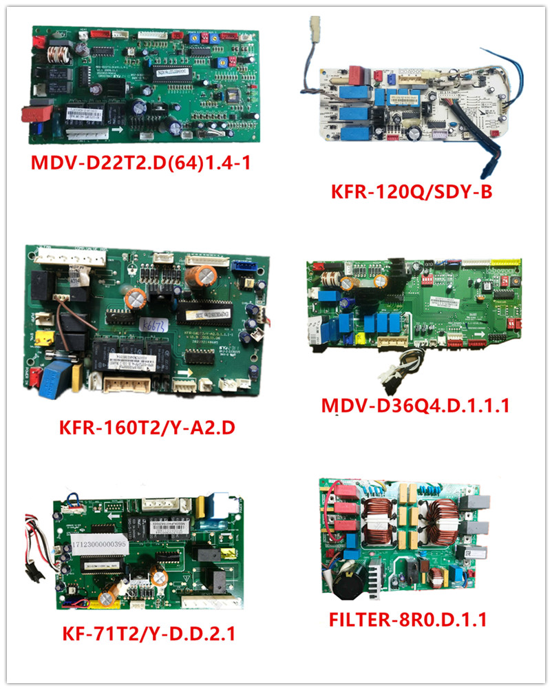 MDV-D22T2.D(64)1.4-1| KFR-120Q/SDY-B| KFR-160T2/Y-A2.D| MDV-D36Q4.D.1.1.1| KF-71T2/Y-D.D.2.1| FILTER-8R0.D.1.1 Used Good Working