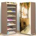 Acht Schichten Moderne Minimalistischen Verdicken vlies Schuh Schrank Kreative DIY Montage Staubdicht Schuh Veranstalter Regal Rack