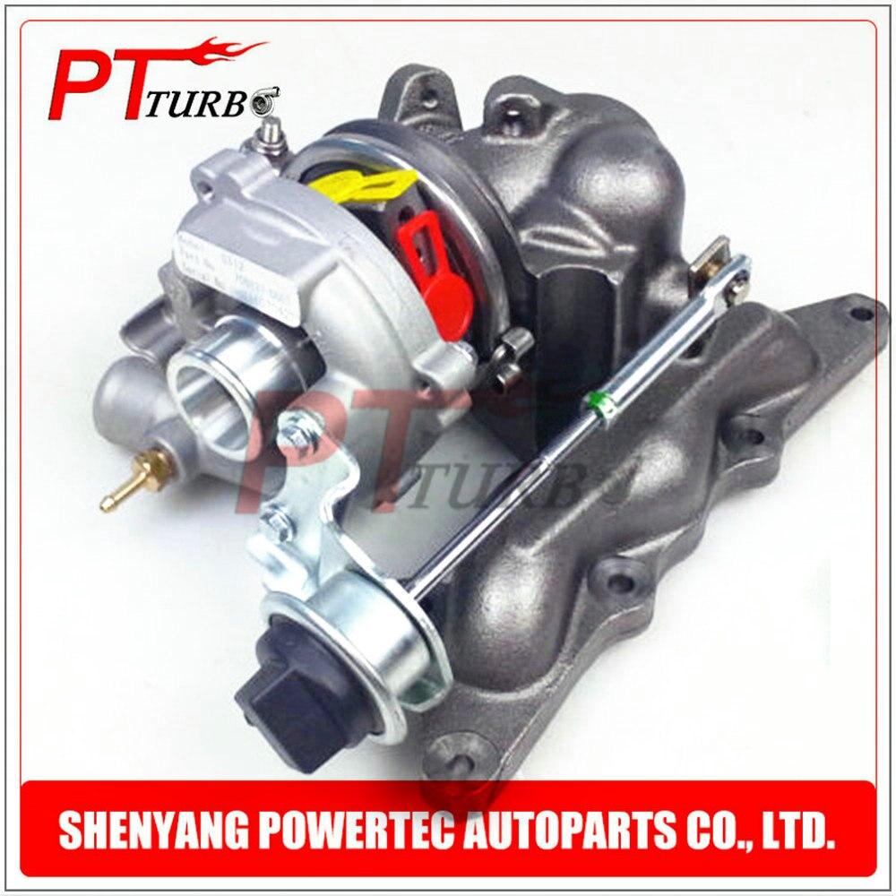 Powertec turbo charger GT1238S turbo compressor 708837 complete turbocharger 1600960499 / A1600960499 for Smart 0.6 (MC01) YH kp31 54319880000 54319880002 6600960199 6600960099 5431 970 0002 turbo for smart mcc fortwo mc01 99 om660de08la 3 zyl 0 8l cdi
