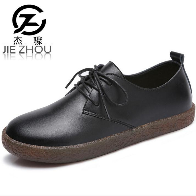 Women's black flat shoes Spring and Autumn soft bottom fashion casual shoes female Flats zapatos mujer obuv new black martin shoes fashion spring women shoes flats casual oxford shoes female obuv zapatos mujer
