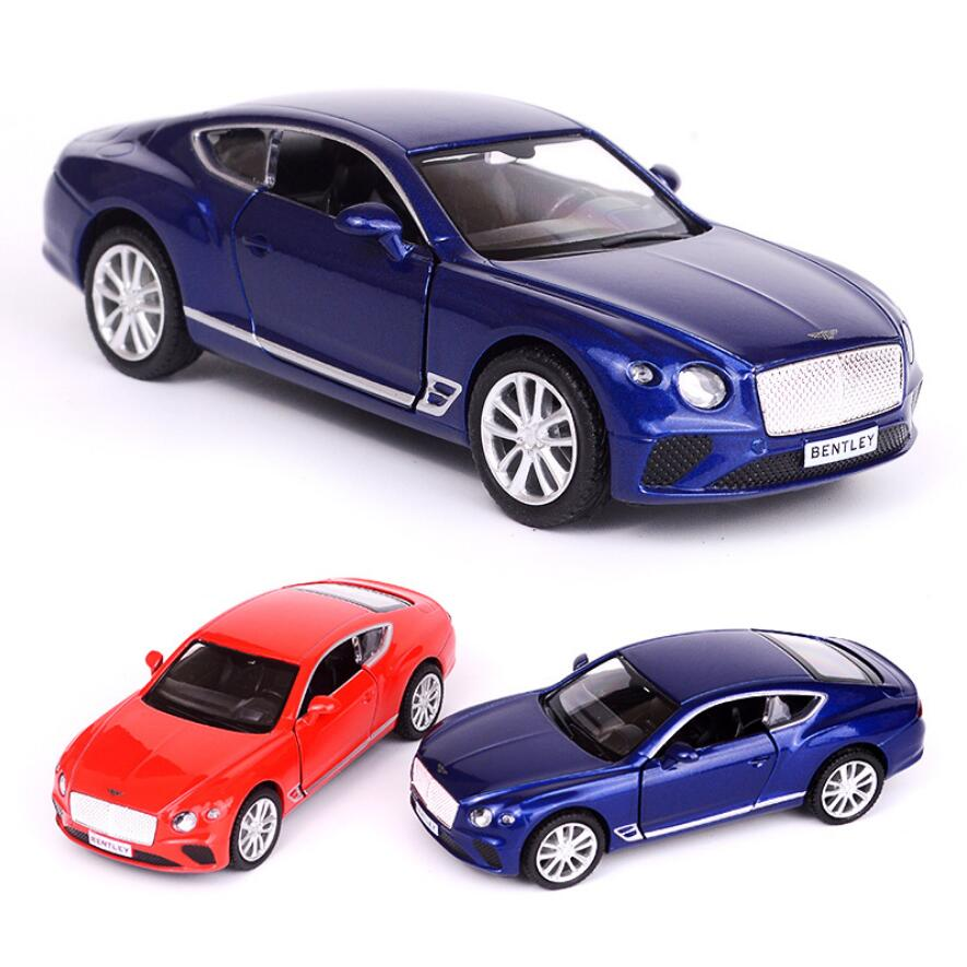 Shop Velocity Toys Diecast Bugatti Veyron Super Sport: Hot 1:36 Scale Wheel Luxury Bentley Continental GT Metal