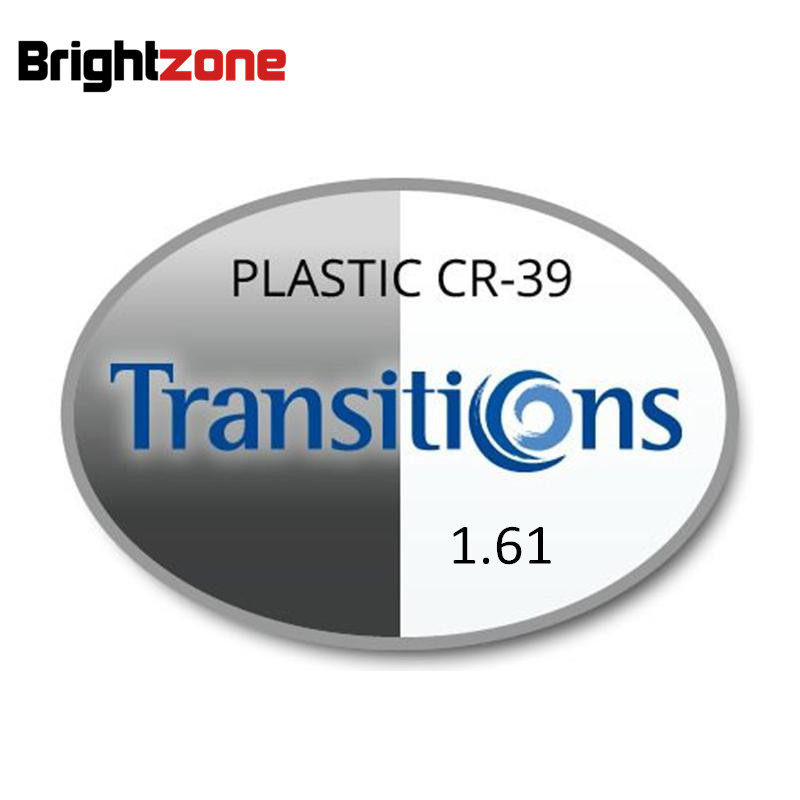 1 61 Photochromic Gray Brown Transition HMC UV AR Unisex CR 39 resin eyeglasses prescription RX