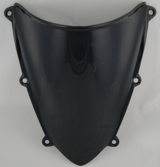 Motorcycle Double Bubble Windscreen Windshield Shield Screen For Honda CBR600RR CBR 600 RR F5 2007 2008