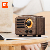 Original Xiaomi Cat King FM Bluetooth Portable Speaker Wood Production 10Hours Battery Life Music Player Birthday Gift Radio