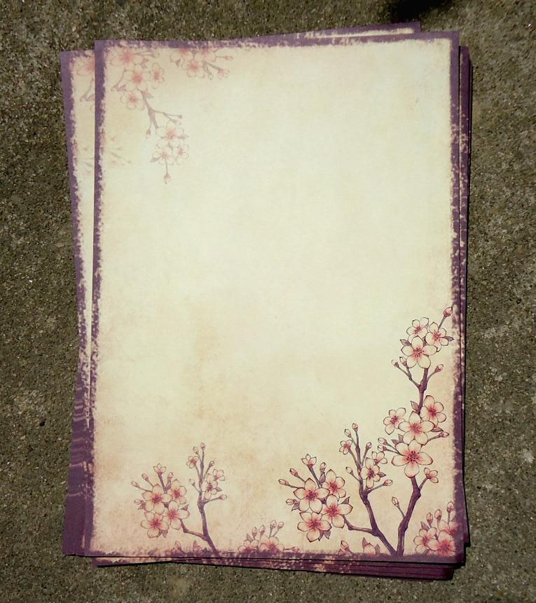 8pcs/set sheet New Chinese traditional vintage romantic