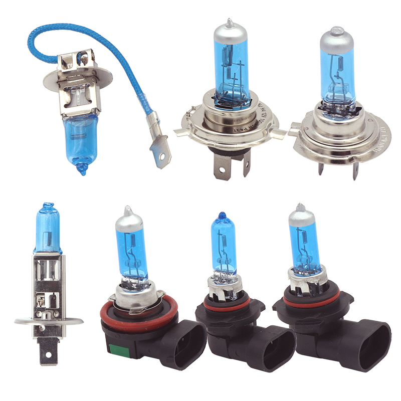 H1 H3 H4 H7 H8 H11 HB3 9005 HB4 9006 100W 6000K Super Bright White car light halogen lamp bulb Car Styling Headlight Fog Lights игрушки из картона 3d пазл львы krooom ут 00009493