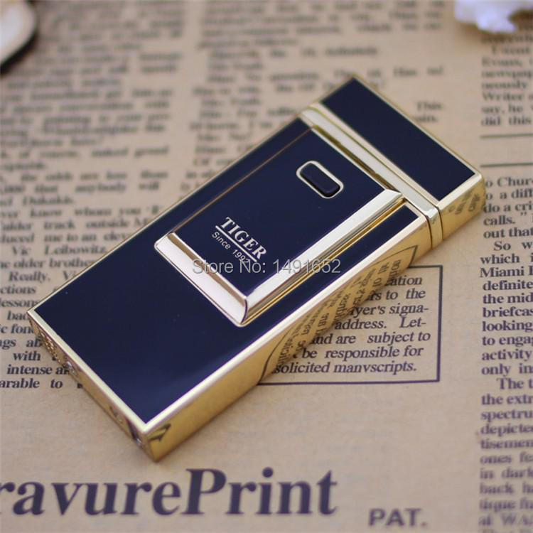 T lighter 900 windproof ultra thin metal pulse charge usb lighter electronic cigarette lighter Free shipping
