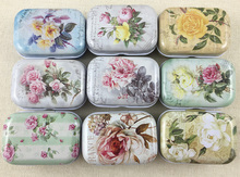 32 pcs/lot Vintage Mini Tin Box Storage Boxes Jewelry Wedding Favor Candy Box Accessories Medical Kit Free Shipping