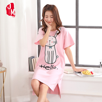 Cotton Nightgown Casual  Sleepwear