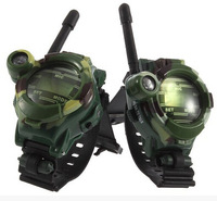 2 STKS Hot Selling mijn schattige kleine game speelgoed voor kinderen Manier Radio Talkie Kids Kind Spy Polshorloge Gadget speelgoed