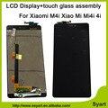Alta calidad 5.0 pulgadas hd1920x1080 lcd display + touch screen asamblea de cristal digitalizador pieza de recambio para xiaomi 4i mi4i m4i