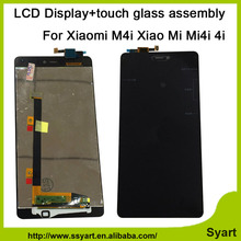 High quality 5.0inch HD1920x1080 LCD Display +Touch Screen Digitizer glass assembly Replacement part  For Xiaomi 4i Mi4i M4i