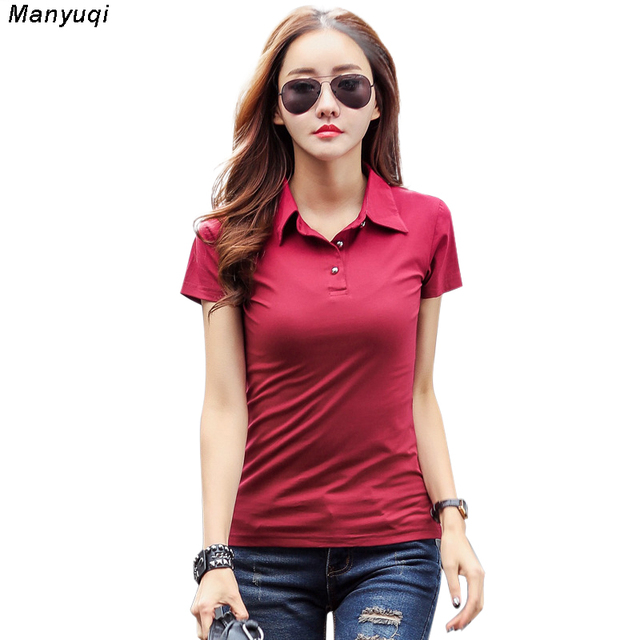 Plus Size 3xl Casual Female Women Polo Shirt Brand Slim