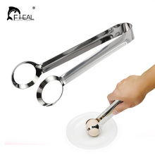 FHEAL 1pc Manual Egg Holder Clip Stainless Steel Egg Tongs Non-Slip Egg Tools Kitchen Gadgets Cooking Tools