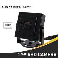 2Pcs Lot HD 3000TVL Video Surveillance 2MP AHD Indoor Mini Camera 1920 1080P CCTV Camera Free