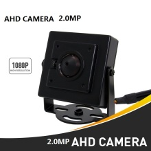 2Pcs/lot HD 3000TVL Video Surveillance 2MP AHD Indoor Mini Camera 1920*1080P CCTV Camera Free Shipping