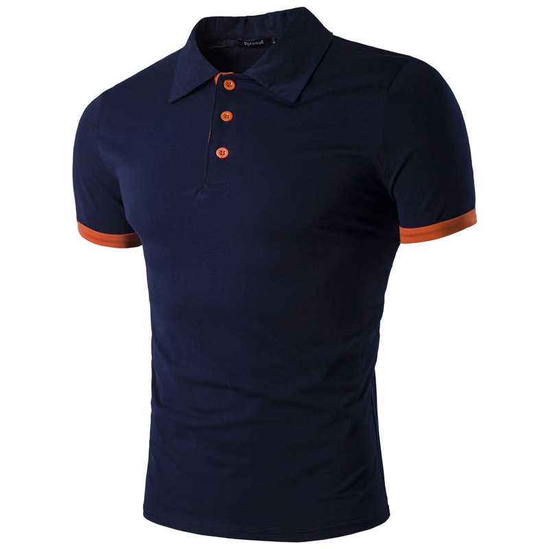 New 2017 fashion brand clothing polo homme solid wholesale for Branded polo t shirts
