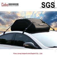 Summit черный складной/складной грузовой крыша коробка сумка с водостойким покрытием шт. 4 шт. ленты