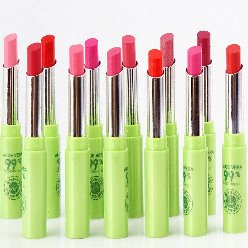 12 Pcs/Pack Women Cosmetic Makeup Aloe Moisturizing Waterpro