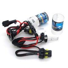 Lâmpada xenon hid 35w 55w, lâmpada h1, h3, h7, h11, 9005, 9006 e 12v, lâmpada para farol de carro 3000k 4300k 5000k 6000k 8000k 10000k 12000k
