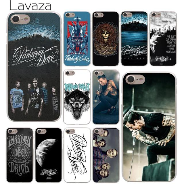 online store d4ac6 1b41a US $2.55 |Lavaza Parkway Drive Hard Phone Cover Case for Apple iPhone X XR  XS Max 6 6S 7 8 Plus 5 5S SE 5C 4S 10 Cases 7Plus 8Plus-in Half-wrapped ...