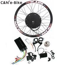 29859717f1a 2019 Super speed 5000w powerful wheel hub motor kits with TFT display  electric bike conversion kit