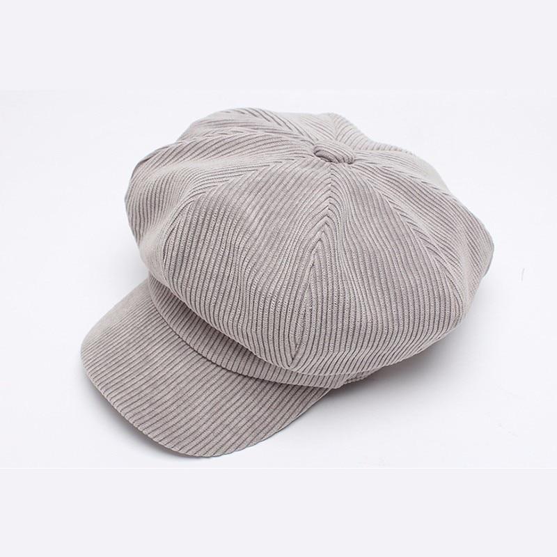Mujeres boina sombrero PANA tapa octogonal sombrero de pintor ...