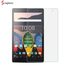 лучшая цена Tempered Glass For Lenovo Tab 3 8 Plus Lenovo P8 TB-8703 TB-8703N TB-8703F TB-8703X 8.0 inch 9H Toughened Glass Film