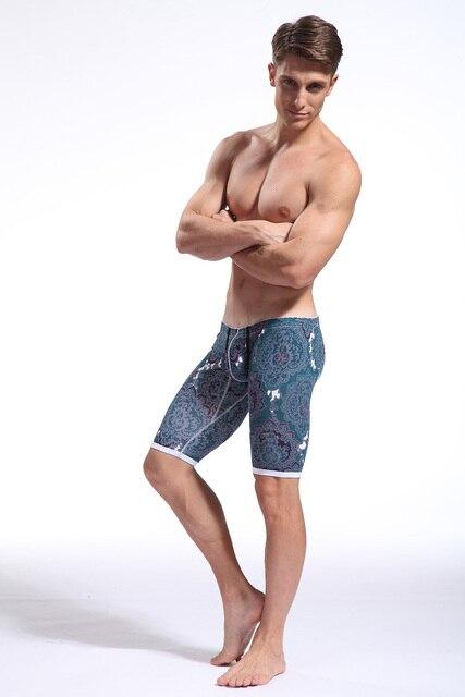 De Los Hombres atractivos de Super Low Rise Shorts Ropa Interior Suave Quinta Flacos Calzoncillos Casual Quintos Pantalones