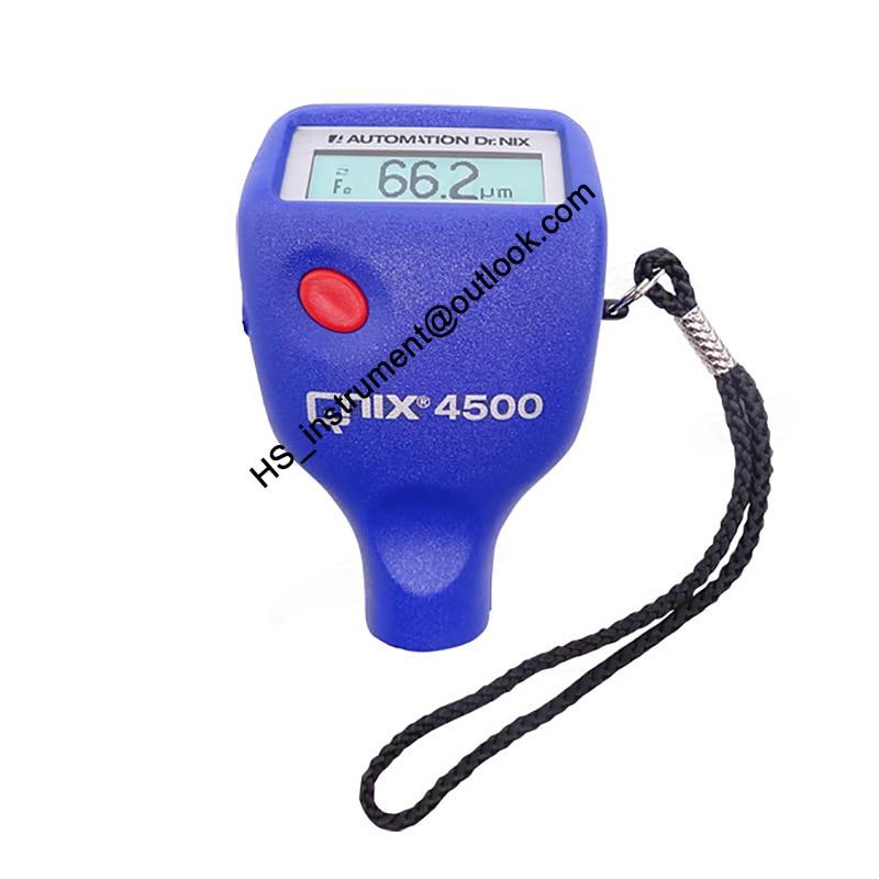 NEW&ORIGINAL QNIX 4500 Paint Coating Thickness Tester Zinc Coating Thickness Gauge Fe&NFe монитор qnix