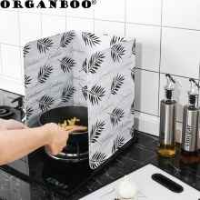 Кухня брызговик высокая термостойкость маслоизоляционная доска большой размер газовая плита алюминиевая фольга масляная плита