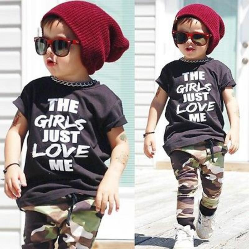 2Pcs Summer Cool Boys Clothes Set Pudcoco Infant Baby Boy ...