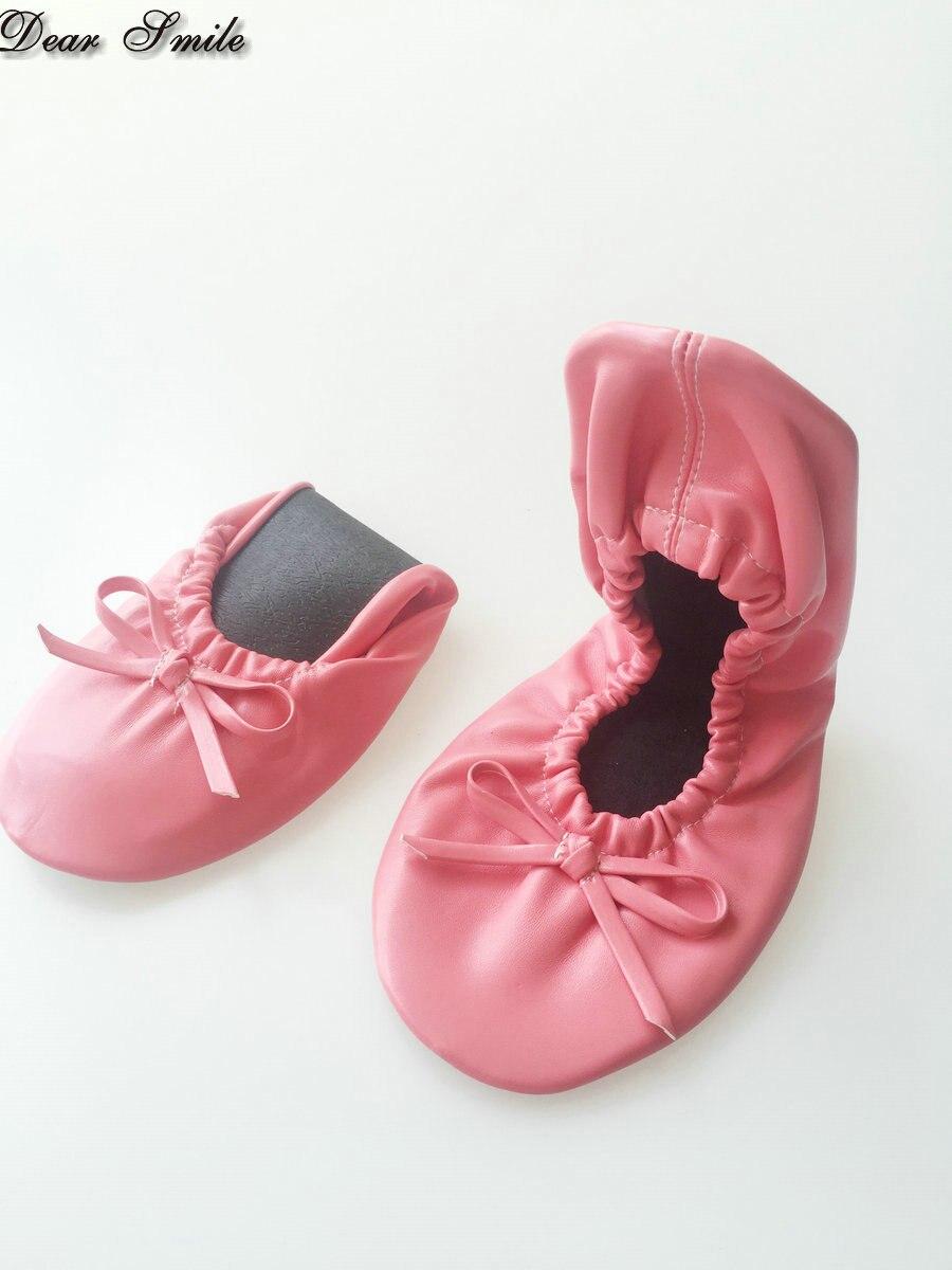 Ballet Vente Chaussures Shippping Pliable Avec Lady Libre Pliant Gros Poche 2018 En Appartements PSnwxfE6q