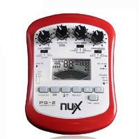 NUX PG 2 Portable Guitar Multi Effects Chromatic / Guitar Pedal Tuner Metronome & Guitar Mode with Noise Gate Brand New