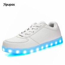 Модные светящиеся кроссовки USB зарядки детская обувь LED тапочки сделать с загорается мальчик девочки светодиодный Tenis моделирование светящ...(China (Mainland))