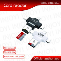 4 in 1 sandisk 32GB 64GB Pendrive OTG USB Flash Drive for iPhone 5/5s/5c/6/6 Plus/7/ipad OTG Card reader Pen Drive 16GB