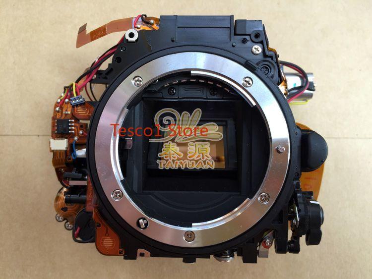 95% nuevas piezas originales de la cámara para Nikon D7100 conjunto de caja de espejo con obturador, motores de Control de apertura